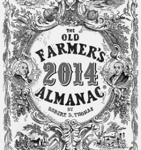 farmers almanac Mass 2014 predicts mosquitoes and ticks